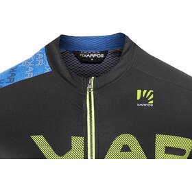 Karpos Jump Jersey Men bluette/black/yellow fluo